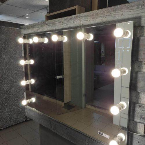 Зеркало с подсветкой салон (10)