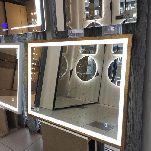 Зеркало с подсветкой салон (12)