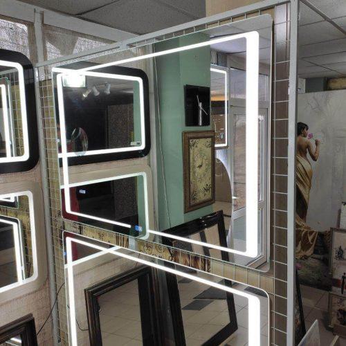 Зеркало с подсветкой салон (13)