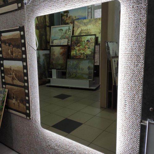 Зеркало с подсветкой салон (15)
