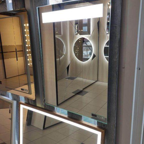 Зеркало с подсветкой салон (2)